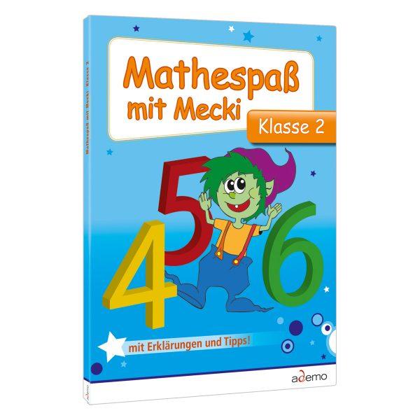 Mecki-Bücher Mathe Kl.2, Mathe