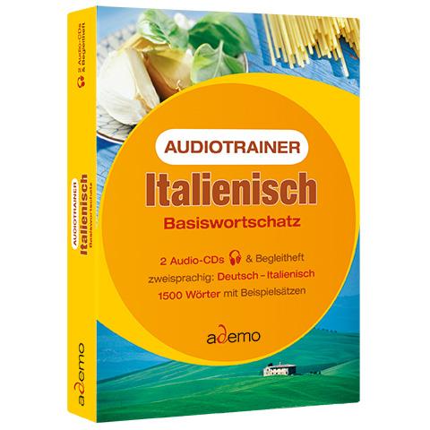 Audiotrainer Basiswortschatz, Italienisch