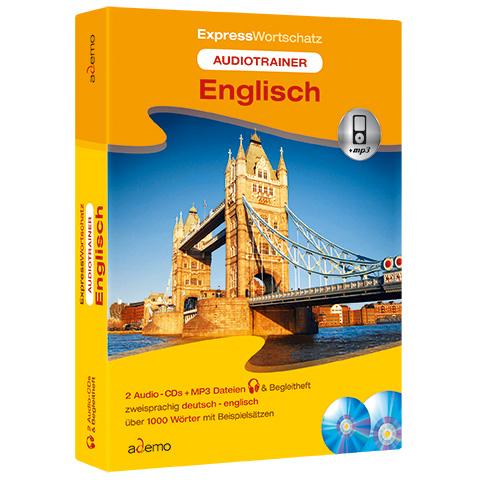 Audiotrainer Expresswortschatz, Englisch