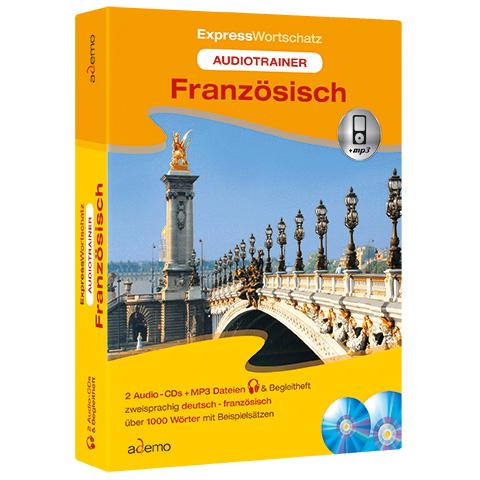 Audiotrainer Expresswortschatz, Französisch