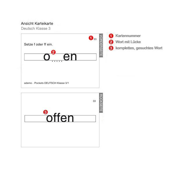 Pockets for Kids, Kl.3, Deutsch