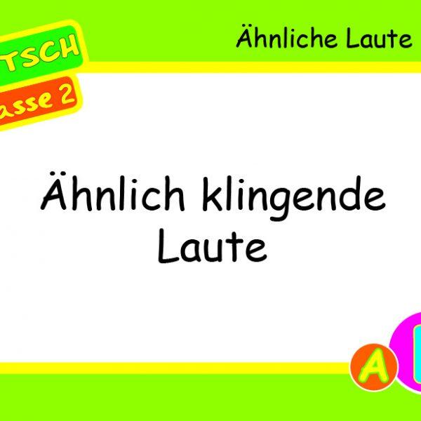 Karteikarten Deutsch Kl.2, vierfarbig, Deutsch