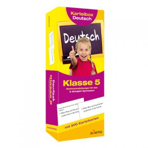Karteibox Deutsch Kl.5, Deutsch