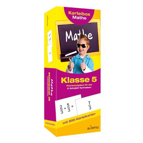Karteibox Mathe Kl.5, Mathe