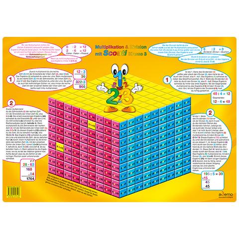 Multiplikation und Division DIN A3, Mathe